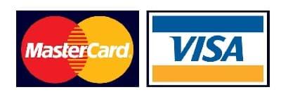 Zahlung per Kreditkarte (Visa, Mastercard)