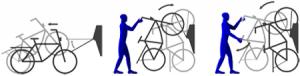 Fahrradhalter LIFT VelowUp Wandmontage Anleitung