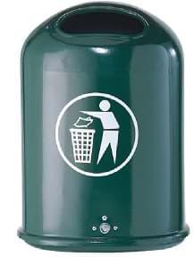 Abfallbehälter SALUNA grün